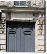 Paris Street Life 3 Acrylic Print