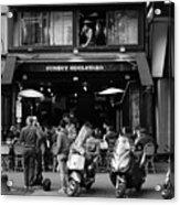 Paris Street Life 4b Acrylic Print