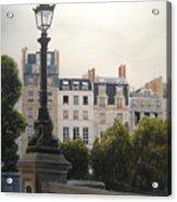 Paris Stroll Acrylic Print