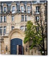 Paris Through Glass 1 Acrylic Print