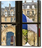 Paris Through Windows 2 Acrylic Print