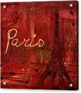 Paris - V01ct1at2cc Acrylic Print