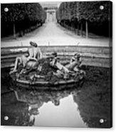 Paris Versailles . Acrylic Print