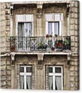 Paris Windows Acrylic Print