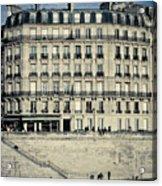 Parisian Building Acrylic Print