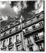 Parisian Buildings Acrylic Print