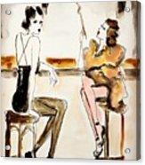 Parisian Cabaret Acrylic Print