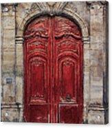 Parisian Door No.49 Acrylic Print
