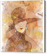Parisienne 1930 Acrylic Print