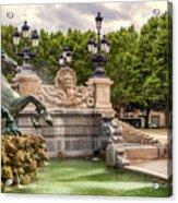 Park And Fountains Acrylic Print