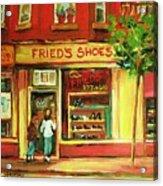 Park Avenue Shoe Store Acrylic Print