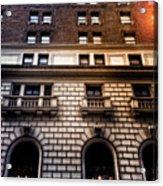 Park Avenue Sunglare Acrylic Print