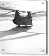 Parked Ch-47 Acrylic Print