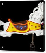 Parker Flying Carousel Horse 2 Acrylic Print