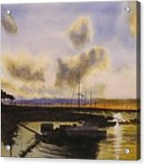 Parker's Boatyard II Acrylic Print