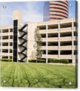 Parking Garage Acrylic Print