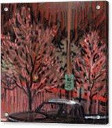 Parking Lights Acrylic Print