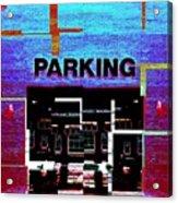 Parking Acrylic Print