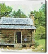 Parkway Cabin Acrylic Print