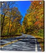 Parkway Road Nc Acrylic Print