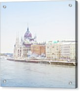 parliament in  Budapest Acrylic Print