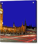 Parliament Square In London Acrylic Print