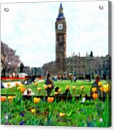 Parliament Square London Acrylic Print