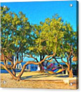 Parmer's Resort At Little Torch Key Acrylic Print