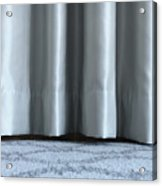 Part Of The Base Of An Interior Curtain  Acrylic Print