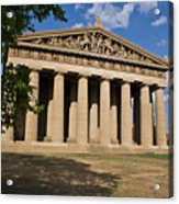 Parthenon Nashville Tennessee From The Shade Acrylic Print