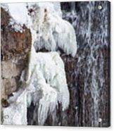 Partially Frozen Acrylic Print
