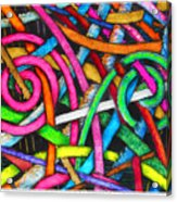 Particle Track Forty-one Acrylic Print