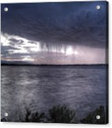 Parting Skies Over Union Reservoir Acrylic Print