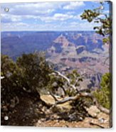 Partly Cloudy - Grand Canyon Acrylic Print