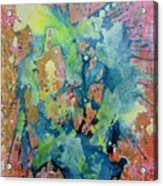 Party 100x120cm Acrylic On Canvas Acrylic Print