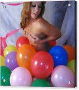 Party Balloon Acrylic Print