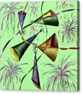Party Hat Abstract  Acrylic Print