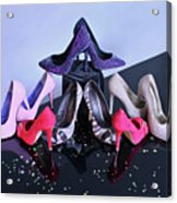 Party Shoes Acrylic Print