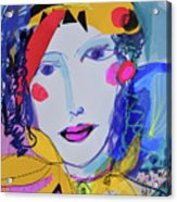 Party Time Collage Acrylic Print