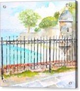 Paseo De La Princesa Puerto Rico Acrylic Print