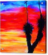 Paso Del Norte Sunset 1 Acrylic Print