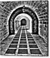 Passage, La Seu, Palma De Acrylic Print