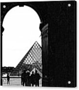 Passage To The Louvre Acrylic Print