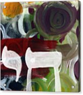 Passages 2- Abstract Art By Linda Woods Acrylic Print