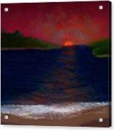 Passageway Sunset Acrylic Print