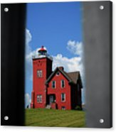 Passageway To The Two Harbors Lighthouse Acrylic Print