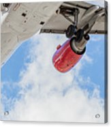 Passenger Jet Coming In For Landing 9 Acrylic Print