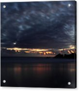 Passing Clouds In Big Sur Acrylic Print by Pierre Leclerc Photography