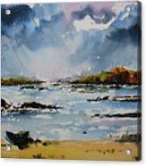 Passing Storm At Lahinch Acrylic Print