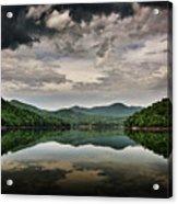 Passing Storm Over Lake Hiwassee Acrylic Print